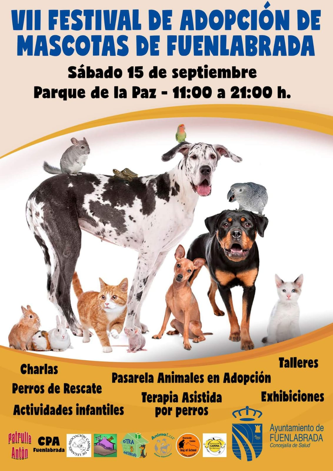 cartel evento fuenlabrada
